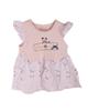 - پیراهن نوزادی دخترانه کد 411 - صورتی