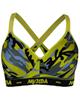 ماییلدا نیم تنه ورزشی زنانه مدل 3532-5 - طرح ارتشی - چریکی - زمینه زرد