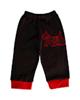 آدمک شلوار نوزادی مدل Dog Black - مشکی قرمز
