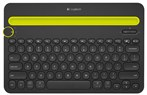 K480-A wireless keyboard for  computer-tablet - smartphone
