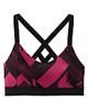 لباس زنانه نیم تنه ورزشی زنانه بروکس کد 300632537 - مشکی سرخابی - طرح دار