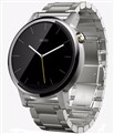 Moto 360 2nd Gen - for Men's-46mm-Silver  Metal