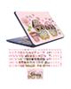 - استیکر لپ تاپ مدل OWL-02برای 17 اینچ + برچسب حروف فارسی کیبورد