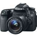 EOS 750D with  kit 18-55 lens