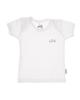 آدمک تی شرت آستین کوتاه نوزادی مدل Sun - رنگ سفید