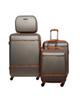 - مجموعه چهار عددی چمدان مدل AMB4 - خاکستری قهوه ای