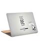 - استیکر لپ تاپ طرح dont worry be happyکد c-246 برای 15.6 اینچ