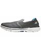 Skechers کفش مخصوص پیاده روی زنانه مدل Go Walk 3 - خاکستری تیره -پارچه مش