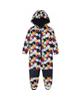 lupilu سرهمی نوزادی کد B - مشکی - طرح ستاره های رنگ