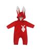 - سرهمی نوزادی طرح خرگوش کد FF-091  - قرمز