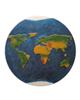 - تابلو رزین طرح نقشه جهان کد WB2-01