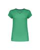 پانیل تیشرت ورزشی زنانه کد 169G - سبز ساده - آستین کوتاه