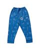 - شلوار نوزادی الناز مدل 1801 - آبی تیره - طرح دار