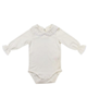 Mothercare بادی نوزادی کد 200-1 - شیری ساده - آستین بلند