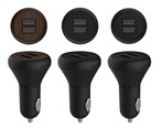 شارژر فندکی-Car charger Ozaki O!tool-Dual Car Charger (OT281) for ipod , iphone  and ipad