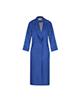 لباس زنانه پالتو زنانه السانا مدل رایان کد 70329 - آبی کاربنی روشن - بلند