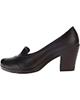 - کفش زنانه ونوس کد013 - قهوه ای سوخته - پاشنه بلند - رسمی و مجلسی