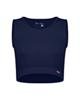 پانیل نیم تنه ورزشی زنانه کد 4055NA - سرمه ای ساده