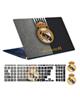 - استیکر توییجین و موییجینReal Madridکد02برای15.6اینچ+برچسب کیبورد
