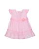 Fiorella سرهمی نوزاد دخترانه مدل fi-2058 - صورتی - طرح خالخالی - نخپنبه