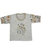 - تی شرت آستین کوتاه نوزادی مدل H3502 - سفید - طرح دار