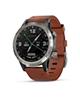 Garmin ساعت هوشمند  مدل D2 Delta Aviator با بند چرم قهوه ایی