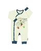 لباس نوزادی - سرهمی نوزادی آدمک طرح تدی کد 46250 - شیری