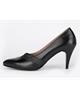 چرم مشهد کفش زنانه پاشنه بلند مدل J2379 - مشکی - چرم طبیعی - مجلسی