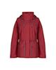 COLUMBIA بارانی زنانه مدل af00216 - قرمز تیره - کوتاه - کلاه دار