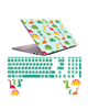 صالسو آرت استیکر لپ تاپ مدل 5029 hk به همراه برچسب حروف فارسی کیبورد