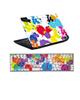 - استیکر لپ تاپ طرح لکه رنگ کد 0917-98 برای لپ تاپ 15.6 اینچ