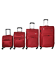 - مجموعه 4 عددی چمدان کاریبو کد 6121 - قرمز