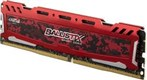Ballistix Sport LT Red DDR4 8GB 2400Mhz CL16 Single Channel