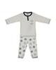 بی بی ناز ست تی شرت و شلوار نوزادی مدل 1501450-90 - طوسی روشن - طرح ستاره