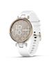 Garmin ساعت هوشمند  Lily Cream Gold Bezel with White Case بند سیلیکونی