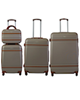 لوازم سفر- مجموعه چهار عددی چمدان اسکای برد کد 3346