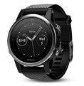 ساعت های  ورزشی  Garmin  Fenix 5S -Sapphire - Black with Black Band-010-01685-