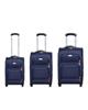 - مجموعه سه عددی چمدان مدل 0301A - سرمه ای