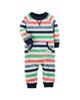 Carters سرهمی نوزادی پسرانه کد 1253 - راه راه رنگی
