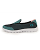 SOCCEREX کفش ورزشی زنانه مدل LSH9099 - مشکی سبز -  الیاف مصنوعی - کتان
