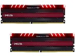 8GB-Delta RED LED -DDR4 2400MHz CL15 Dual Channel
