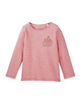 lupilu تی شرت آستین بلند نوزادی مدل 301498 - گلبهی صورتی