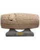 تندیس و پیکره شهریار مجسمه منشور آزادی ملل جنس فایبرگلاس رنگ قهوه ای روشن کد MO110
