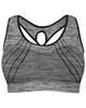 - نیم تنه ورزشی زنانه کد 3245-2 - خاکستری - طرح دار