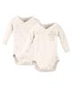 لباس نوزادی - بادی نوزادی لوپیلو کد BR01 مجموعه 2 عددی - شیری