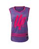 Trec Wear تاپ ورزشی زنانه مدل Violet 002 -بنفش سرخابی - پلی استر - بدون پد