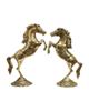 - مجسمه برنجی مدل اسب  مجموعه 2 عددی