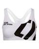 Trec Wear نیم تنه ورزشی زنانه مدل 02 - سفید مشکی - پلی استر - بدون پد