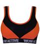 لباس زنانه نیم تنه ورزشی زنانه ماییلدا کد 3411-4 - نارنجی مشکی