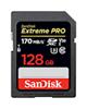 SanDisk SDXC-128GB-Extreme Pro V30 کلاس10استاندارد UHS-I U3 سرعت 170mbps